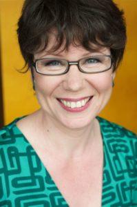 Marjo Heiskasen kirjailijakuva vuodelta 2009.